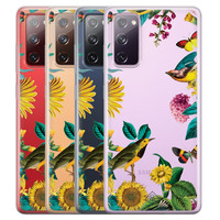 Casimoda Samsung Galaxy S20 FE transparant hoesje - Sunflowers