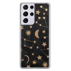 Casimoda Samsung Galaxy S21 Ultra siliconen hoesje - Counting the stars