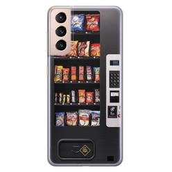 Casimoda Samsung Galaxy S21 Plus siliconen hoesje - Snoepautomaat