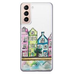 Casimoda Samsung Galaxy S21 Plus siliconen hoesje - Amsterdam