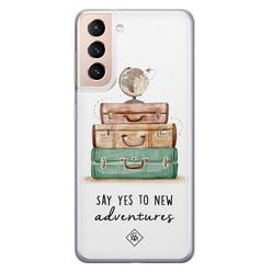 Casimoda Samsung Galaxy S21 Plus siliconen hoesje - Wanderlust