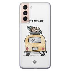 Casimoda Samsung Galaxy S21 Plus siliconen hoesje - Let's get lost