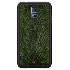 Casimoda Samsung Galaxy S5 hoesje - Snake mix