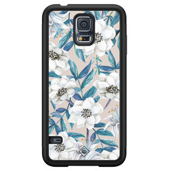 Casimoda Samsung Galaxy S5 hoesje - Touch of flowers