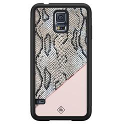 Casimoda Samsung Galaxy S5 hoesje - Snake print