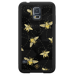 Casimoda Samsung Galaxy S5 hoesje - Bee yourself