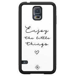 Casimoda Samsung Galaxy S5 hoesje - Enjoy life