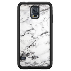 Casimoda Samsung Galaxy S5 hoesje - Marmer grijs