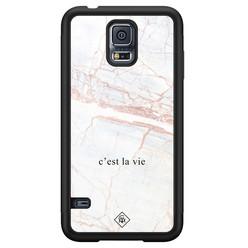 Casimoda Samsung Galaxy S5 hoesje - C'est la vie