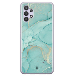 Casimoda Samsung Galaxy A32 5G siliconen hoesje - Touch of mint