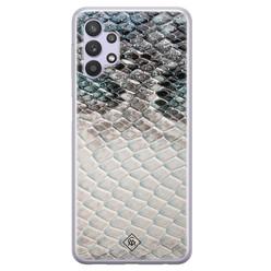 Casimoda Samsung Galaxy A32 5G siliconen hoesje - Oh my snake