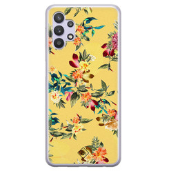 Casimoda Samsung Galaxy A32 5G siliconen hoesje - Floral days