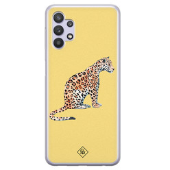 Casimoda Samsung Galaxy A32 5G siliconen hoesje - Leo wild