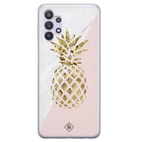 Casimoda Samsung Galaxy A32 5G siliconen hoesje - Ananas