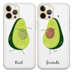 Casimoda Best friends siliconen hoesjes - Avocado