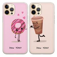 Casimoda Best friends hoesjes - Koffie en donut