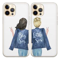Casimoda Siliconen best friends hoesjes - Big sis & little sis