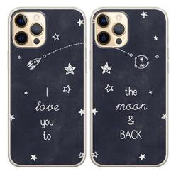 Casimoda Best friends hoesjes - To the moon & back
