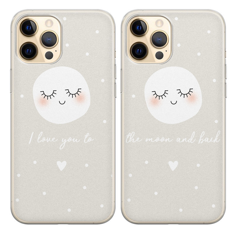 Casimoda Best friends hoesjes - To the moon & back V3