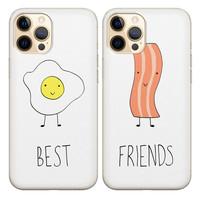 Casimoda Best friends hoesjes - Ei & bacon