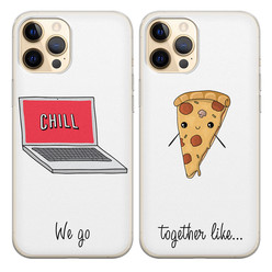 Casimoda Siliconen best friends hoesjes - We go together like