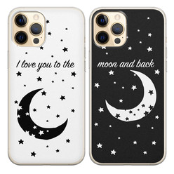 Casimoda Best friends hoesjes - To the moon & back V2