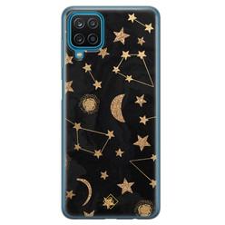 Casimoda Samsung Galaxy A12 siliconen hoesje - Counting the stars