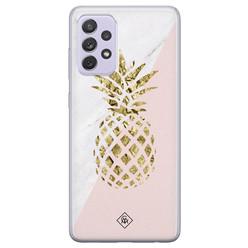 Casimoda Samsung Galaxy A72 siliconen hoesje - Ananas