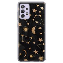 Casimoda Samsung Galaxy A72 siliconen hoesje - Counting the stars