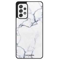 Casimoda Samsung Galaxy A52 hoesje - Marmer grijs