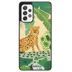 Casimoda Samsung Galaxy A72 hoesje - Jungle luipaard
