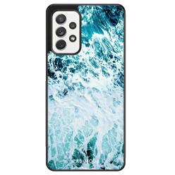 Casimoda Samsung Galaxy A72 hoesje - Oceaan