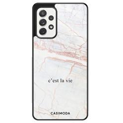 Casimoda Samsung Galaxy A72 hoesje - C'est la vie