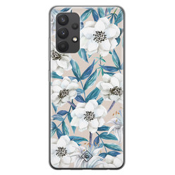 Casimoda Samsung Galaxy A32 4G siliconen hoesje - Touch of flowers