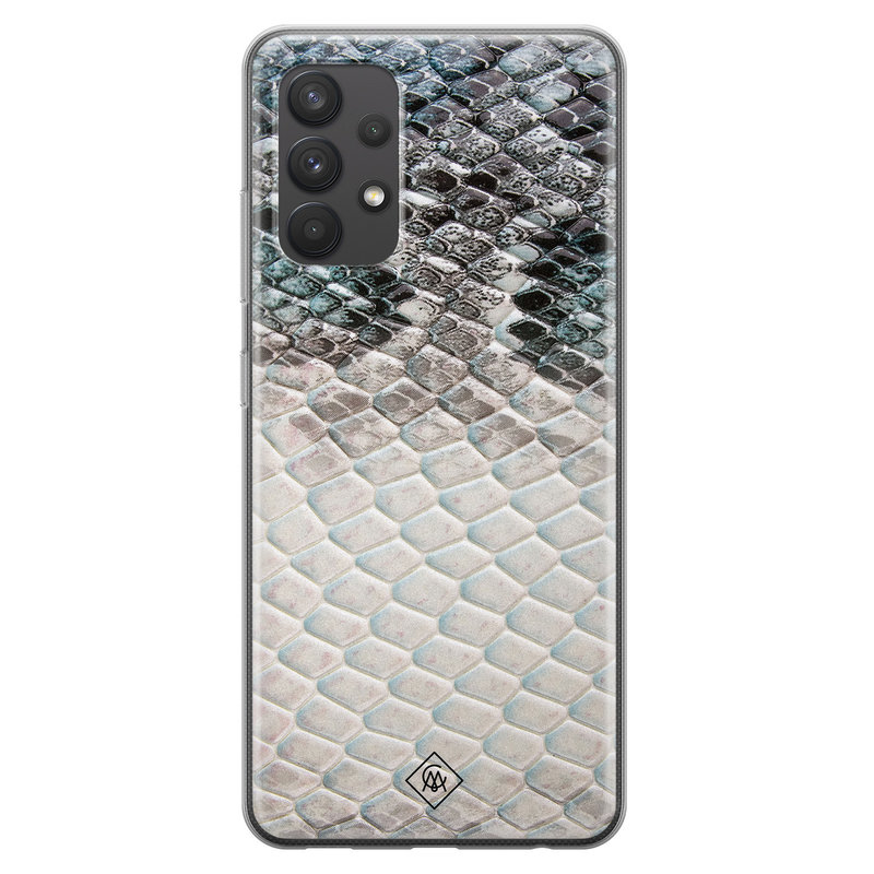 Casimoda Samsung Galaxy A32 4G siliconen hoesje - Oh my snake