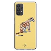Casimoda Samsung Galaxy A32 4G siliconen hoesje - Leo wild
