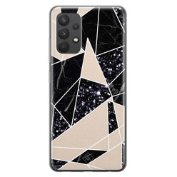 Casimoda Samsung Galaxy A32 4G siliconen hoesje - Abstract painted