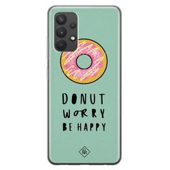 Casimoda Samsung Galaxy A32 4G siliconen hoesje - Donut worry