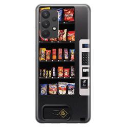 Casimoda Samsung Galaxy A32 4G siliconen hoesje - Snoepautomaat