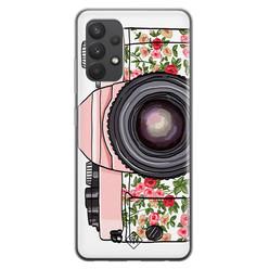 Casimoda Samsung Galaxy A32 4G siliconen hoesje - Hippie camera