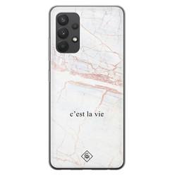 Casimoda Samsung Galaxy A32 4G siliconen hoesje - C'est la vie