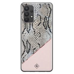 Casimoda Samsung Galaxy A32 4G siliconen hoesje - Snake print