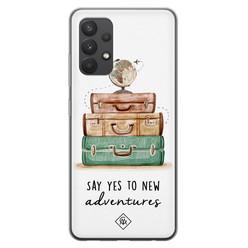 Casimoda Samsung Galaxy A32 4G siliconen hoesje - Wanderlust