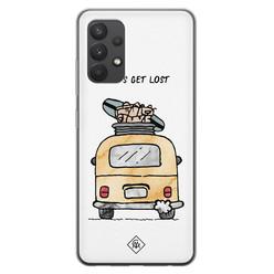 Casimoda Samsung Galaxy A32 4G siliconen hoesje - Let's get lost