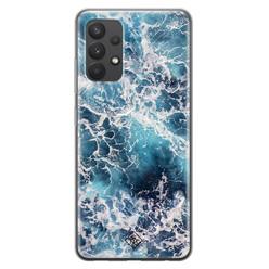 Casimoda Samsung Galaxy A32 4G siliconen hoesje - Oceaan
