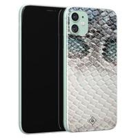 Casimoda iPhone 11 siliconen hoesje - Oh my snake
