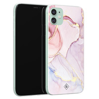 Casimoda iPhone 11 siliconen hoesje - Purple sky