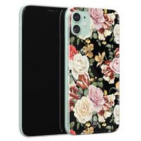 Casimoda iPhone 11 siliconen hoesje - Flowerpower