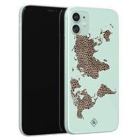 Casimoda iPhone 11 siliconen hoesje - Wild world