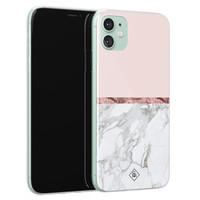 Casimoda iPhone 11 siliconen telefoonhoesje - Rose all day